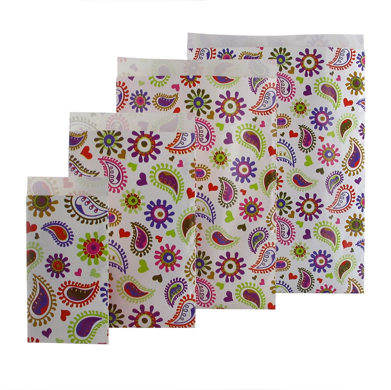 Kuviolliset paperipussit