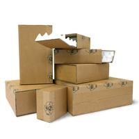 Laatikot vaahtomuovitäytteellä