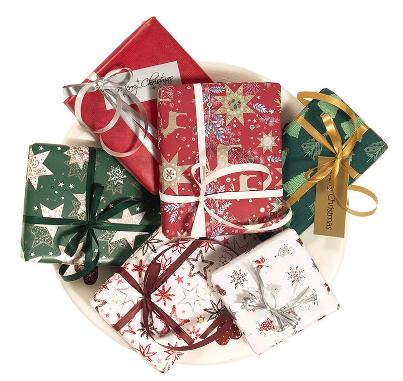 Joulu - lahjapaperit