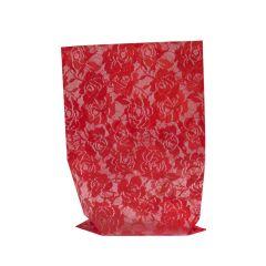 Lahjapussi Chantilly, punainen
