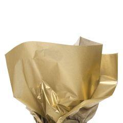 Silkkipaperi metallic gold, 17g