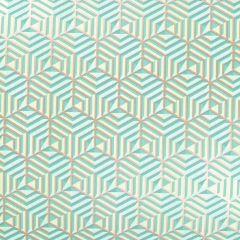 Lahjapaperi Hexagon Green