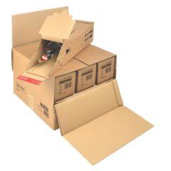 Pakkauslaatikko yhden pullon laatikoille CP181