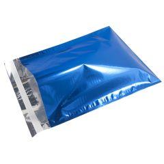 Postituspussi Metallic, sininen