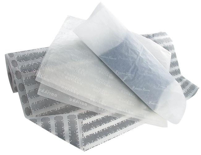 painetut silkkipaperit